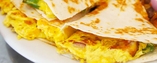 breakfast-quesadilla-gameday-grille-patio-waynesville