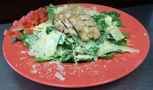 Chicken-Caesar-gameday-grille-patio-waynesville